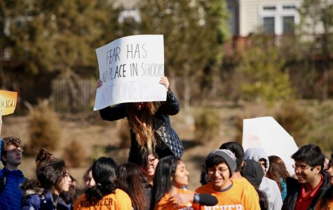 Over 800 students protest school shootings on National Walkout Day