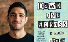 Author Visit: Jefferson alumnus Arvin Ahmadi discusses his new book Down And Across