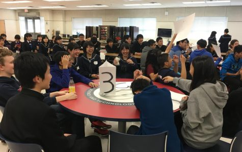 Fujishima High School Students Spend the Day at Jefferson