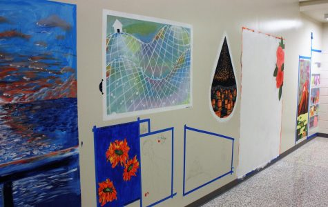 Student artists express themselves through mural project