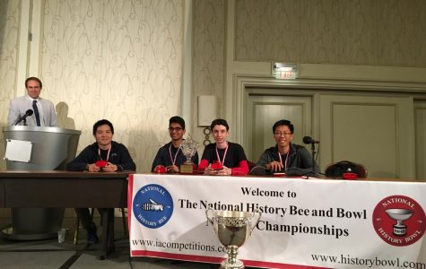 Jefferson History Bowl Team Wins First Place