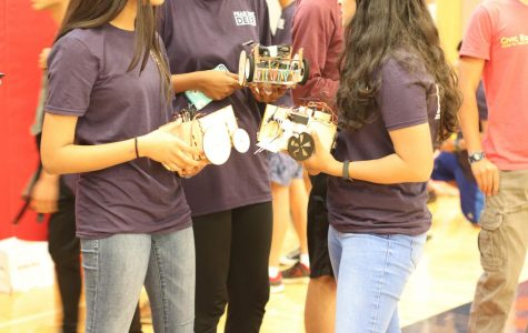 Freshman Robots Gear Up for Success
