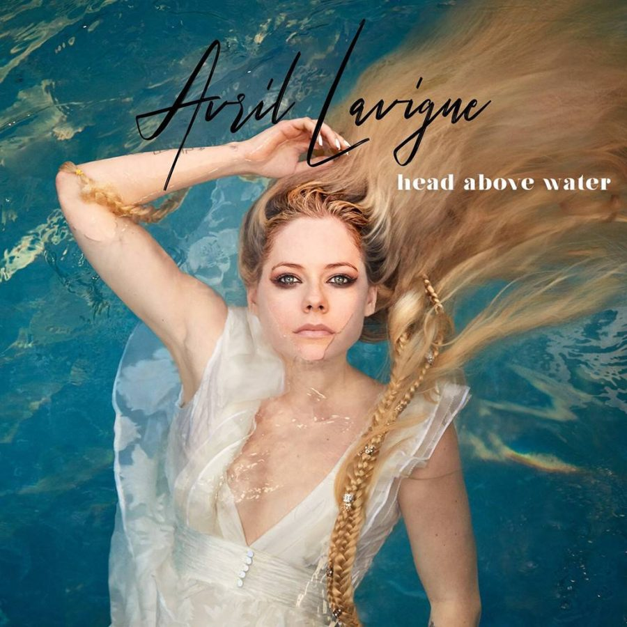The+album+cover+for+Avril+Lavigne%27s+newest+single%2C+%22Head+Above+Water%22%2C+perfectly+encapsulates+the+meaning+and+mood+of+the+song.