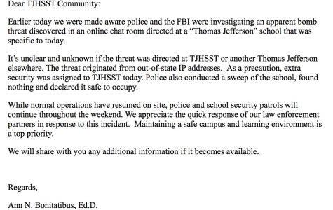 Law Enforcement and Jefferson Administrators Quickly Respond to Bomb Threat