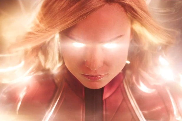 Photo+courtesy+of+www.thewrap.com.+Captain+Marvel+is+depicted+with+her+powers%2C+ready+to+go+into+battle.