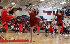 Freshmen perform their MEX with enthusiasm. Photo courtesy of Shreya Kurdukar.