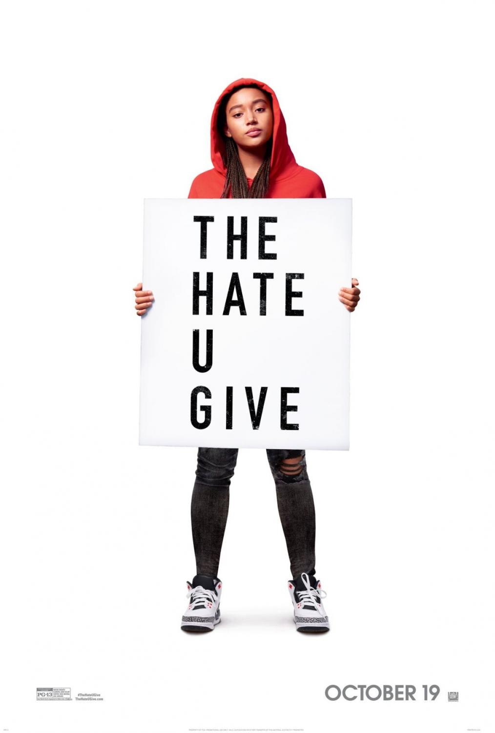 Angie Thomas' The Hate U Give was published in Feb. 2017. Its movie adaptation was later released to the public worldwide on Oct. 19. Photo courtesy of imdb.com