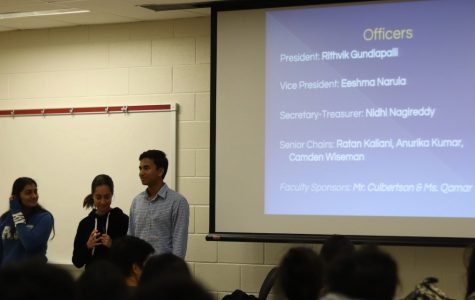 National Honor Society Hosts Information Session for Prospective Students