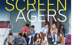 A promotional image for the ScreenAgers documentary.