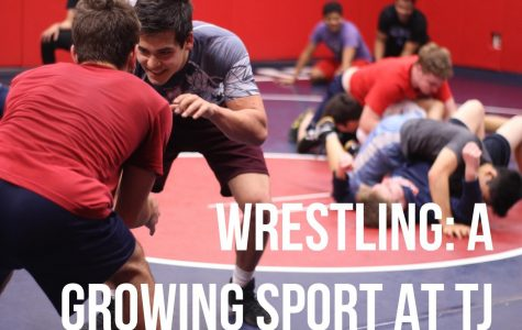Wrestling: A Growing Sport at TJ