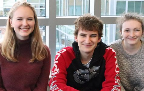 Froshmore Sophia Troshynski, junior Trenton Elliott, and senior Sarah O'Shay know all about the challenges of froshmore year.
