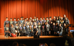 Jefferson students in Charlottesville competed for Science Olympiad and are seen here at the awards ceremony.