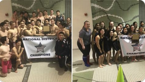 Jefferson Swim Dive Teams Win District Championships