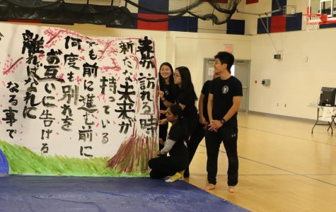Highlights from the JNHS Oshogatsu celebration and calligraphy performance