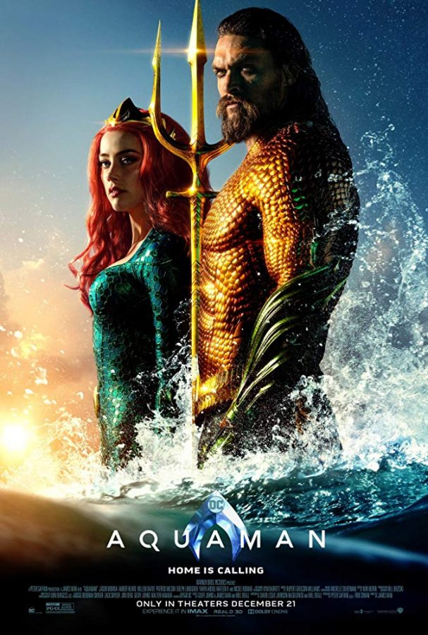 Aquaman, a superhero movie from the DC Universe, was released in theaters on Dec. 21, 2018. Photo courtesy of IMDb.