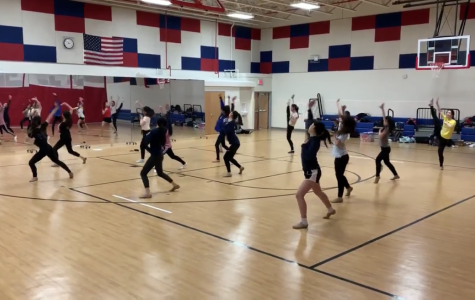Dance team orders new mirrors for practice sessions