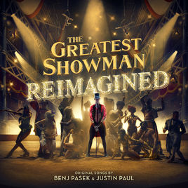 The soundtrack of the hit musical movie The Greatest Showman returns with a gold cover and bold new renditions. Photo courtesy of iTunes.