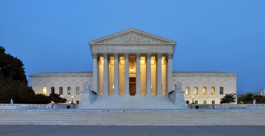 The Supreme Court building, where justice is served.