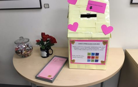 Students show appreciation to counselors during national school counseling week