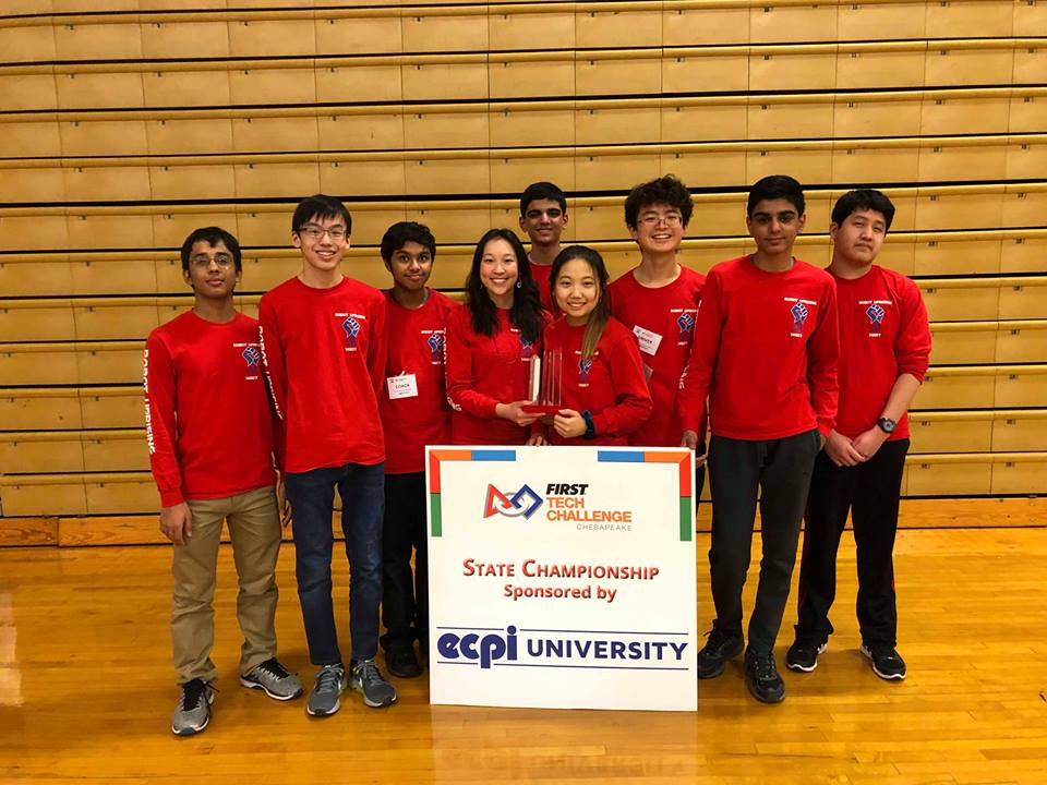 Jefferson's FTC team wins states tournaments on Saturday, Feb. 2 and will continue on to worlds.