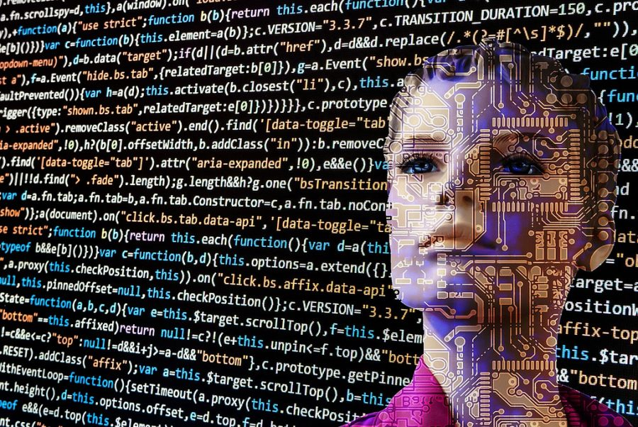 AI is already powerful enough to beat human computations. Will computers take over the humanities next? Photo courtesy of 6eotech.