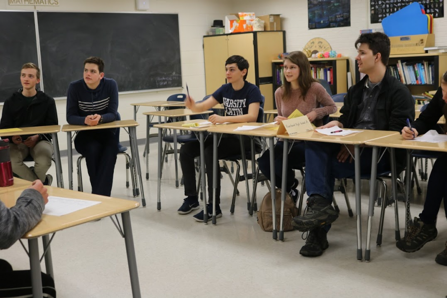 Students from different high schools and middle schools competed in three levels: novice, intermediate, or advanced. Each level offered two divisions, amateur and competitive, for people with varying degrees of Certamen experience.