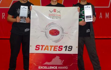 Jefferson freshmen win State VEX Robotics Tournament