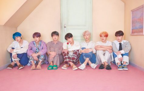 Leading up to the April 12 release of their highly anticipated album, Map of Soul: Persona, BTS posted multiple sets of concept photos as teasers. Photo from Big Hit Entertainment.