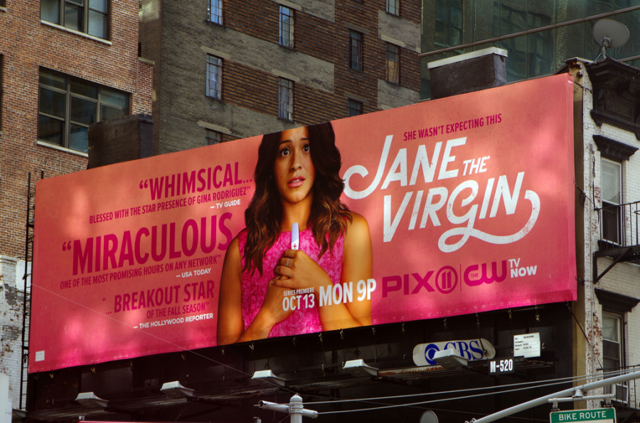 An ad for Jane the Virgin, the telenovela we weren't ready for