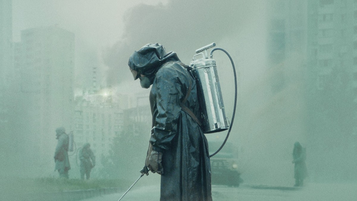 Cover image of the miniseries Chernobyl.