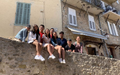 French students spend Spring Break exploring France