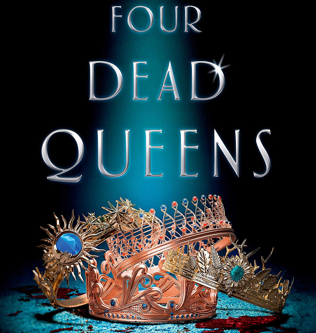 Pictured above is the haunting cover of Four Dead Queens, the debut novel of author Astrid Scholte. Although the reader immediately starts off knowing that the novel is about the deaths of four queens, it's almost impossible to predict who the murderer is. I had countless theories throughout the whole book, but the ending left me stunned.