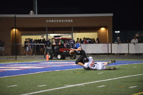 Colonial football season concludes with Jefferson victory on senior night