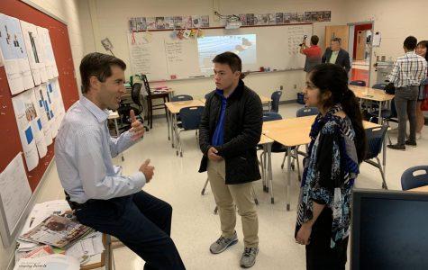 NBC News 4 Visits Jefferson's Journalism Class