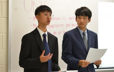 Model United Nations holds first mock conference of the year
