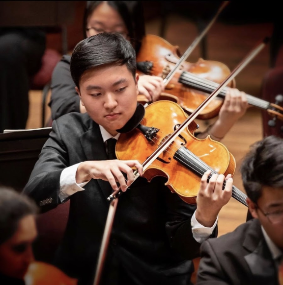 "Senior Jason Pak participated in the National Symphony Orchestra Summer Music Institute (NSOSMI) as a violist this previous summer. ""Thanks to summer camps like SMI, I was able to work with musicians of the NSO (National Symphony Orchestra) and receive a lot of good feedback,"" Pak said."