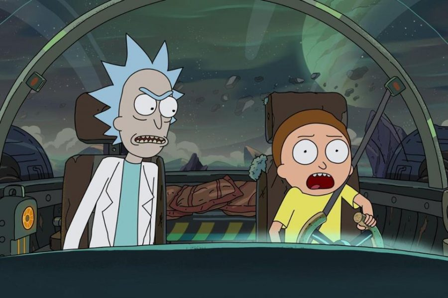Rick scolds Morty for his unsafe driving during the first episode. Photo courtesy of Forbes