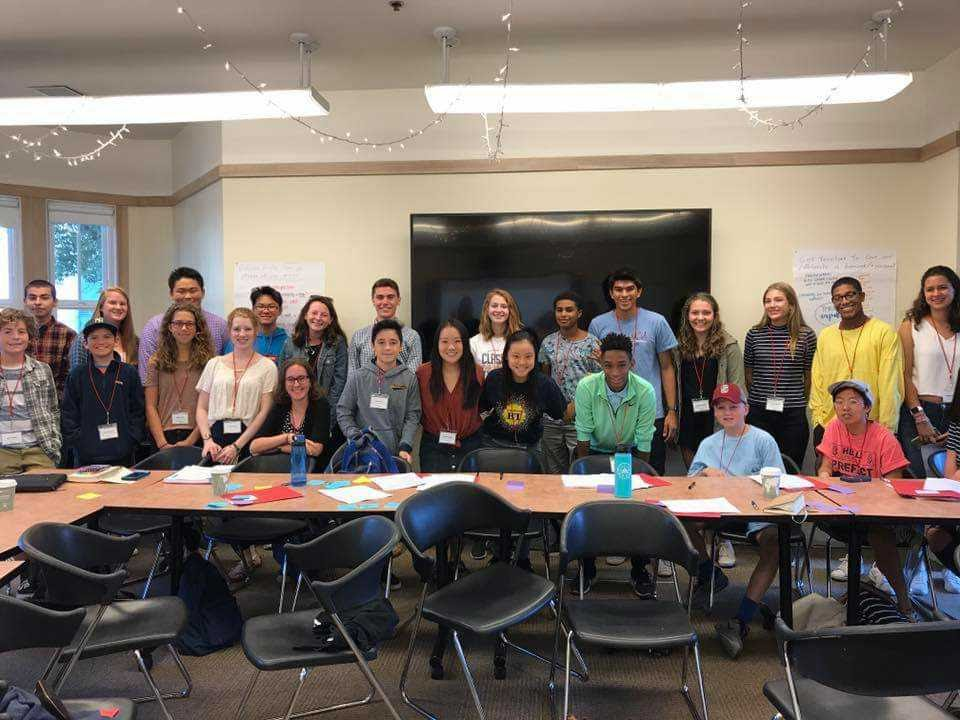 Students at the Challenge Success Fall 2019 conference