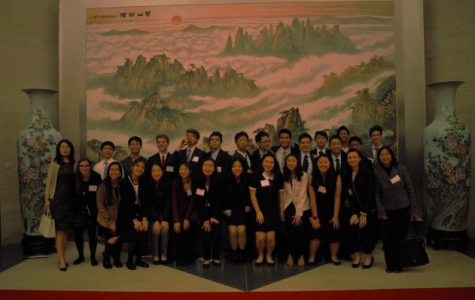Jefferson Chinese program visits Chinese Embassy