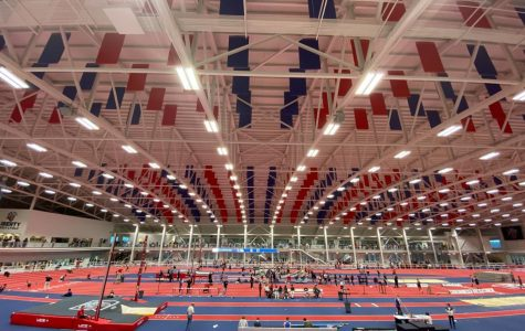 Jefferson Indoor track competes at the Liberty Premier Invitational meet