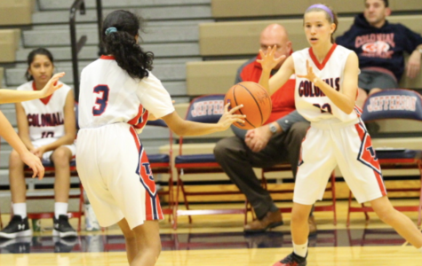 Girls varsity basketball loses against Falls Church