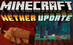 The Minecraft 1.16 crimson forest and warped forest nether biomes (shown above) are the newest additions to Minecraft, along with the flora and fauna that inhabit those areas.