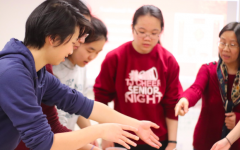 """Students were invited to eat Chinese food in order to celebrate the Lunar New Year. """"[My favorite part] was probably the food"""" junior Erin Li said."""