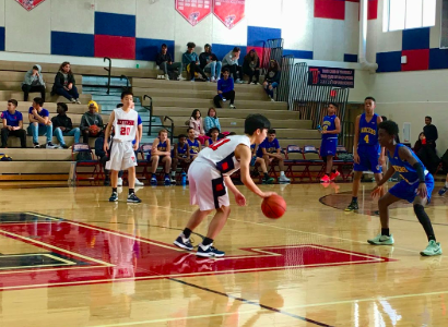 Freshman boys basketball defeats Lee Lancers