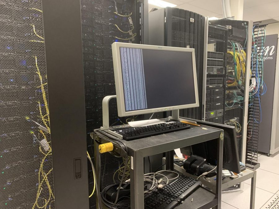 Behind what we see at Jefferson everyday are computer servers that make the whole thing possible