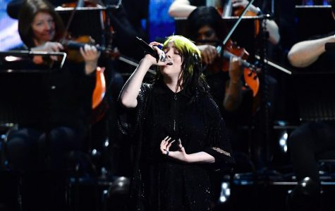 Eilish performs