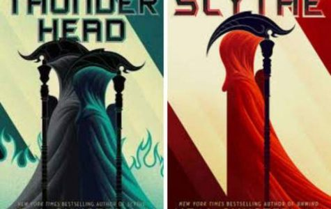 In the Arc of a Scythe trilogy, the first book, Scythe, is followed by Thunderhead, a novel where death occurs in a controlled manner. Photo courtesy of Vanessa Fowler.