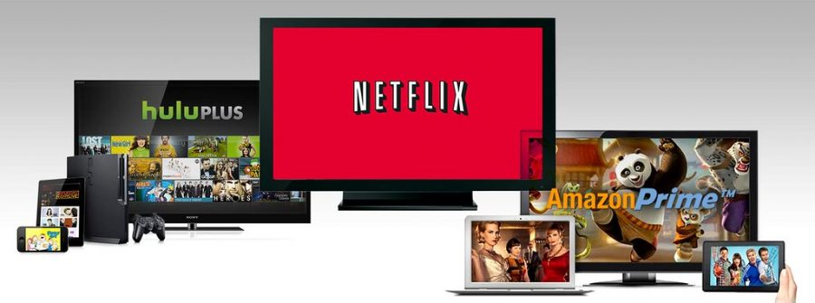 Three popular streaming services to watch shows on during coronacation include Netflix, Amazon Prime, and Hulu.