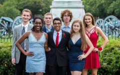 Sid Ram and his friends pose for photos in Lafayette Park in Washington DC for Homecoming. Because of the recent announcement that schools would be closed through the end of the school year, the senior class will have to postpone their prom. Students in the class of 2020 will have to wait for another opportunity to get dressed up and take photos in DC.