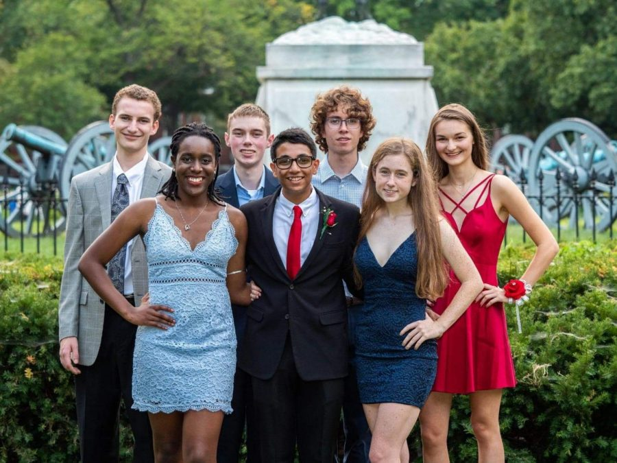 Sid+Ram+and+his+friends+pose+for+photos+in+Lafayette+Park+in+Washington+DC+for+Homecoming.+Because+of+the+recent+announcement+that+schools+would+be+closed+through+the+end+of+the+school+year%2C+the+senior+class+will+have+to+postpone+their+prom.+Students+in+the+class+of+2020+will+have+to+wait+for+another+opportunity+to+get+dressed+up+and+take+photos+in+DC.